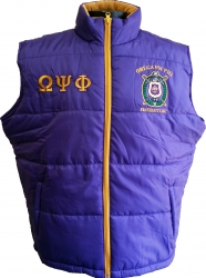 View Buying Options For The Omega Psi Phi Mens Vest