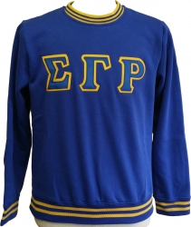 View Buying Options For The Sigma Gamma Rho Crew Neck Ladies Sweatshirt