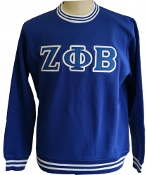 View Buying Options For The Zeta Phi Beta Crew Neck Ladies Sweatshirt