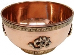 View Buying Options For The Om Copper Offering Bowl