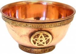 View Buying Options For The Pentagram Copper Offering Bowl