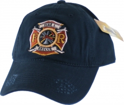 View Buying Options For The Fire & Rescue Distressed Bill Mens Cap