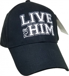 View Buying Options For The Live for Him Mens Cap