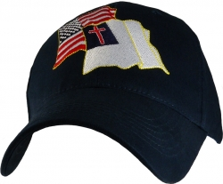 View Buying Options For The Christian/American Flag Mens Cap