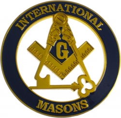 View Buying Options For The International Mason Cut Out Car Emblem