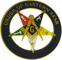 View Buying Options For The Eastern Star Past Patron Cut Out Car Emblem