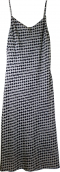 View Buying Options For The Lapis Houndstooth Long Dress
