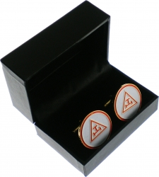 View Buying Options For The Mason Triple Tau Royal Arch Mens Cuff Links
