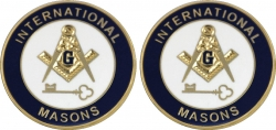 View Buying Options For The International Masons Mens Cuff Links