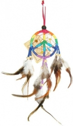 View Buying Options For The Peace Sign Dream Catcher