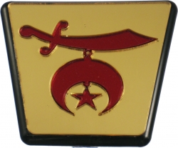 View Buying Options For The Shriner Symbol Trailer Hitch Cover