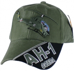 View Buying Options For The AH-1 Cobra Emblem Mens Cap