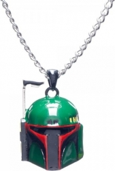 View Buying Options For The Star Wars 3D Boba Fett Necklace