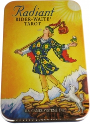 View Buying Options For The Mini Radiant Rider-Waite In Tin Tarot Card Deck