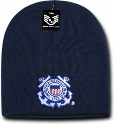 View Buying Options For The RapDom Coast Guard Military Work Mens Short Beanie Cap