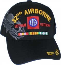 View Buying Options For The 82nd Airborne Vietnam Veteran Ribbon Shadow Mens Cap