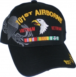 View Buying Options For The 101st Airborne Vietnam Veteran Ribbon Shadow Mens Cap