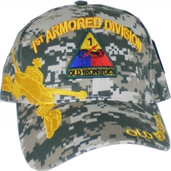View Buying Options For The 1st Armored Division Old Ironsides Shadow Mens Cap