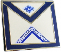 View Buying Options For The Masonic Worshipful Masters Square Apron Lodge Officer Lapel Pin