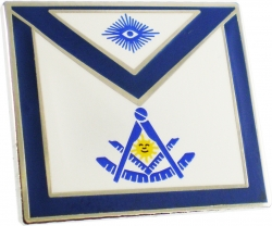 View Buying Options For The Masonic Past Master Apron Lodge Officer Lapel Pin
