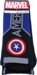 View Buying Options For The Captain America Text Active Crew Socks