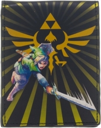 View Buying Options For The Zelda Skyward Sword Burst Bi-Fold Wallet
