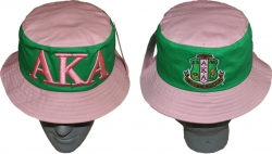 View Buying Options For The Alpha Kappa Alpha Divine 9 S2 Ladies Bucket Hat