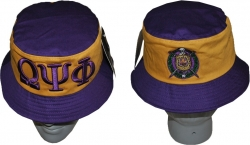 View Buying Options For The Omega Psi Phi Divine 9 S2 Mens Bucket Hat