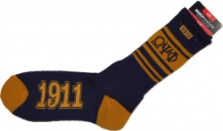 View Buying Options For The Omega Psi Phi Divine 9 Mens Socks