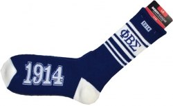 View Buying Options For The Phi Beta Sigma Divine 9 Mens Socks