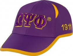 View Buying Options For The Omega Psi Phi Fraternity Featherlight Mens Cap