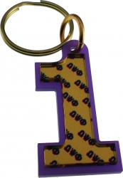 View Buying Options For The Omega Psi Phi Color Mirror Line #1 Keychain
