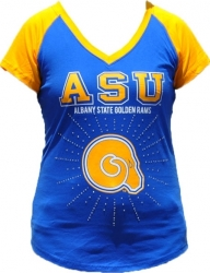 View Buying Options For The Big Boy Albany State Rhinestone Ladies Tee