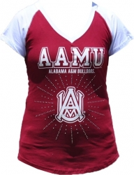 View Buying Options For The Big Boy Alabama A&M Rhinestone Ladies Tee