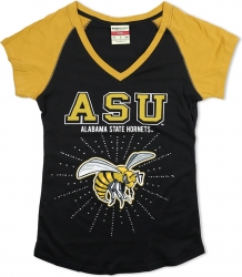 View Buying Options For The Big Boy Alabama State Rhinestone Ladies Tee