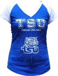 View Buying Options For The Tennessee State Rhinestone Ladies Tee