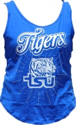 View Buying Options For The Tennessee State Rhinestone Ladies Tank Top