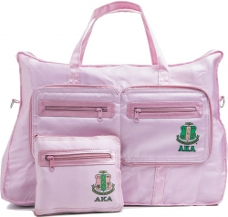 View Buying Options For The Alpha Kappa Alpha Nylon Go Bag