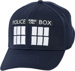 View Buying Options For The Dr. Who Tardis Police Box Flex Mens Cap