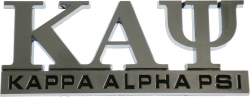 View Buying Options For The Kappa Alpha Psi Chrome Cut Out Car Emblem