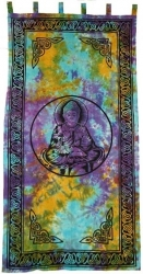 View Buying Options For The Buddha In Tie Dye Window Curtain