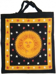 View Buying Options For The Golden Sun God Tote Bag