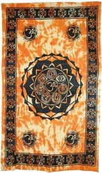 View Buying Options For The Seven Chakras Bedspread Cloth Tapestry