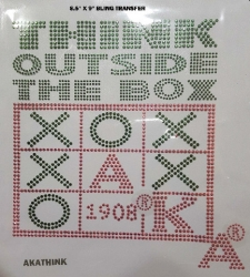 View Buying Options For The Alpha Kappa Alpha Think Outside The Box Heat Transfer
