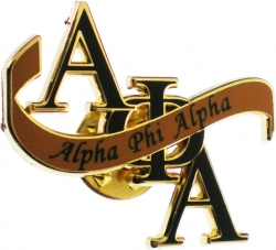 View Buying Options For The Alpha Phi Alpha Banner Lapel Pin