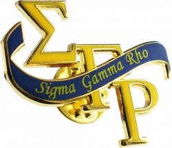 View Buying Options For The Sigma Gamma Rho Banner Lapel Pin