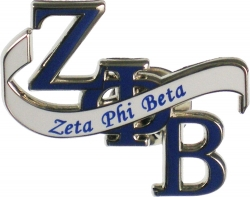 View Buying Options For The Zeta Phi Beta Banner Lapel Pin