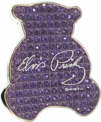 View Buying Options For The Elvis Presley Teddy Bear Rhinestone Magnet