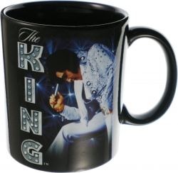 View Buying Options For The Elvis Presley The King Coffee Mug