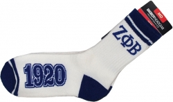 View Buying Options For The Zeta Phi Beta Divine 9 Ladies Socks